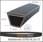 Schmalkeilriemen SPB 1250  Lw