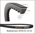 XPA 707  Lw | Schmalkeilriemen, gezahnt